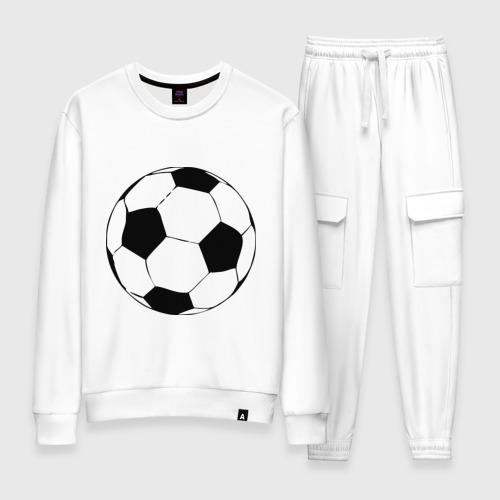 Женский костюм хлопок Футбольный мяч