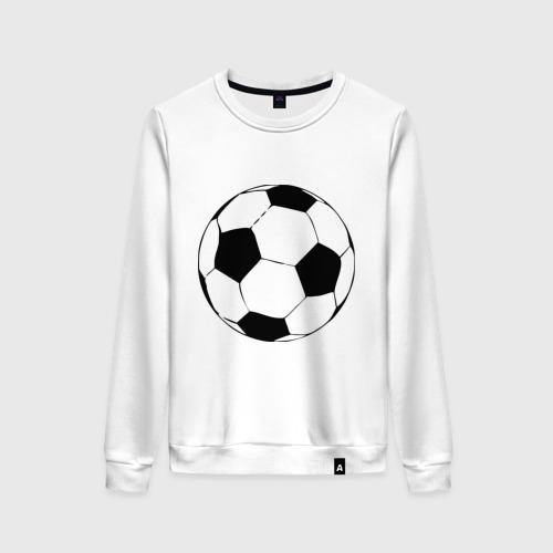 Женский свитшот хлопок Футбольный мяч
