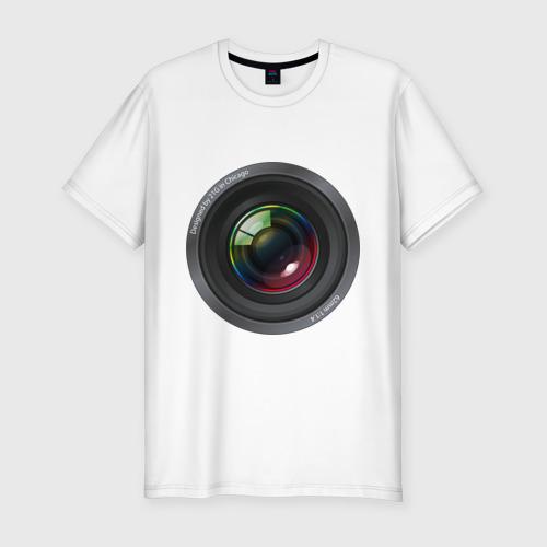 Мужская футболка хлопок Slim Optical