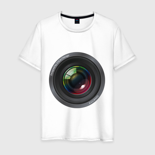 Мужская футболка хлопок Optical