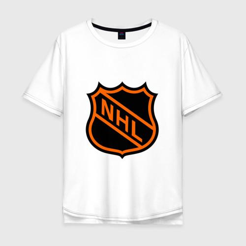 Мужская футболка хлопок Oversize NHL