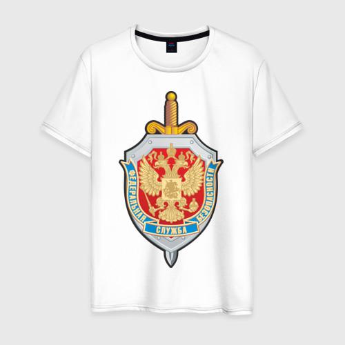 Мужская футболка хлопок ФСБ (2)