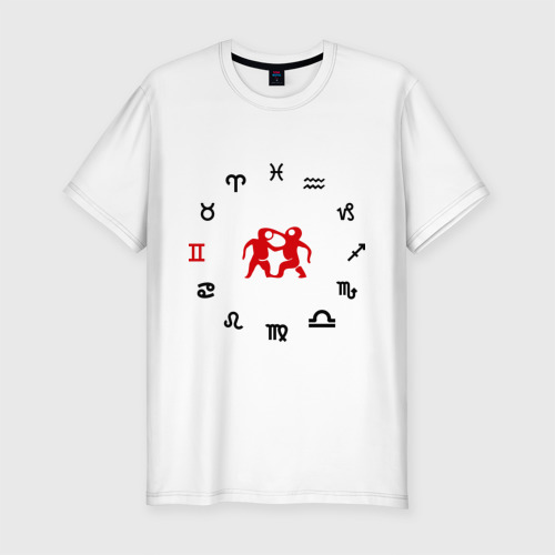 Мужская футболка хлопок Slim Близнецы(5)