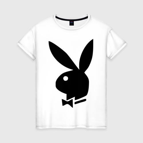 Женская футболка хлопок Playboy
