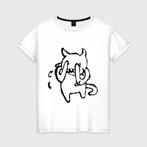 Женская футболка хлопок Radiohead (3)