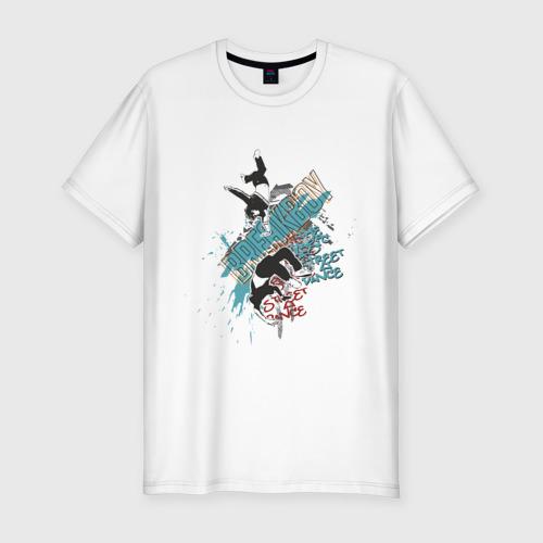 Мужская футболка хлопок Slim Breakboy