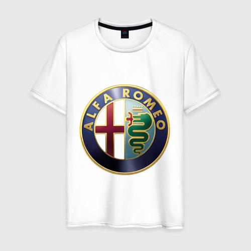 Мужская футболка хлопок Альфа Ромео