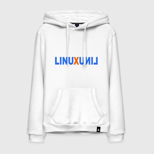 Мужская толстовка хлопок Linux (7)
