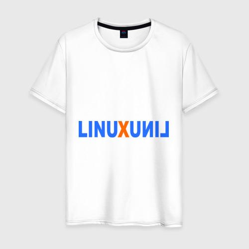 Мужская футболка хлопок Linux (7)