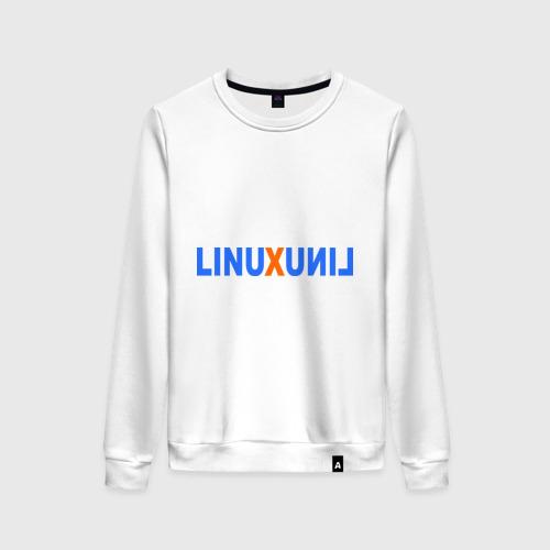 Женский свитшот хлопок Linux (7)