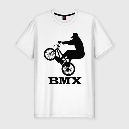 Мужская футболка хлопок Slim BMX (3)