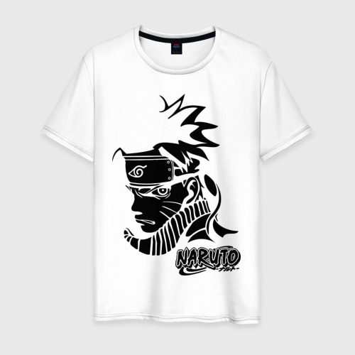 Мужская футболка хлопок Naruto (3)