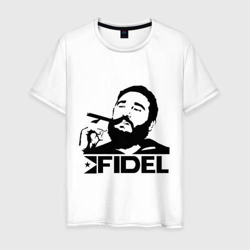Мужская футболка хлопок Фидель Кастро