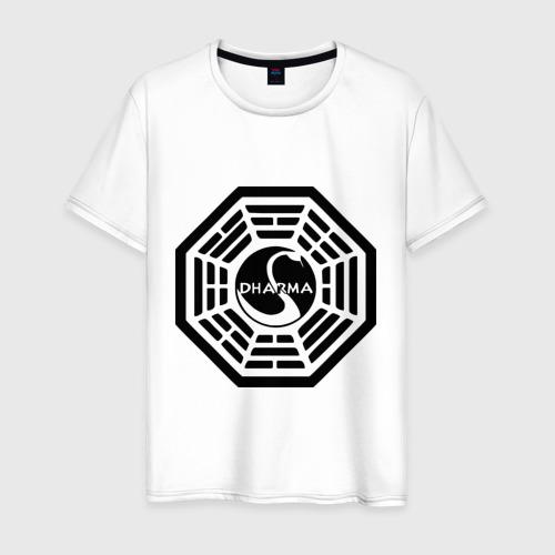 Мужская футболка хлопок Lost dharma