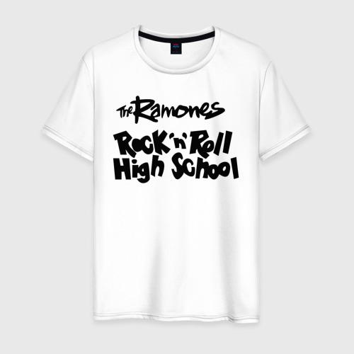 Мужская футболка хлопок Ramones - Rock n Roll High School