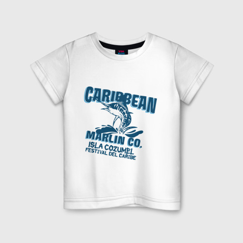 Детская футболка хлопок Caribbean