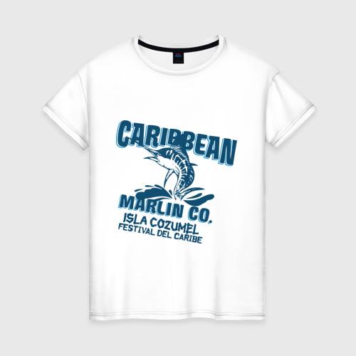 Женская футболка хлопок Caribbean