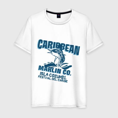 Мужская футболка хлопок Caribbean