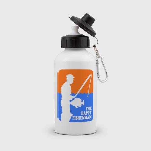 Бутылка спортивная Счастливый рыбак