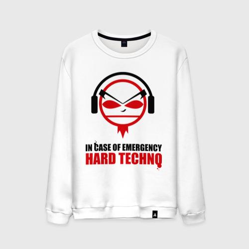 Мужской свитшот хлопок Hard Techno