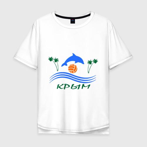 Мужская футболка хлопок Oversize Крым