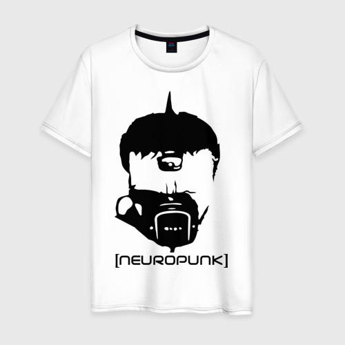 Мужская футболка хлопок Neuropunk