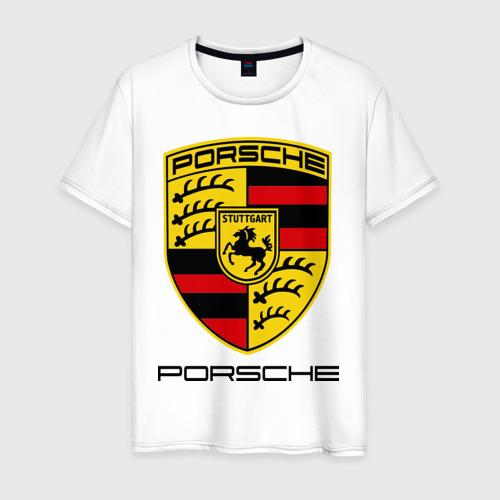 Мужская футболка хлопок Porsche (2)