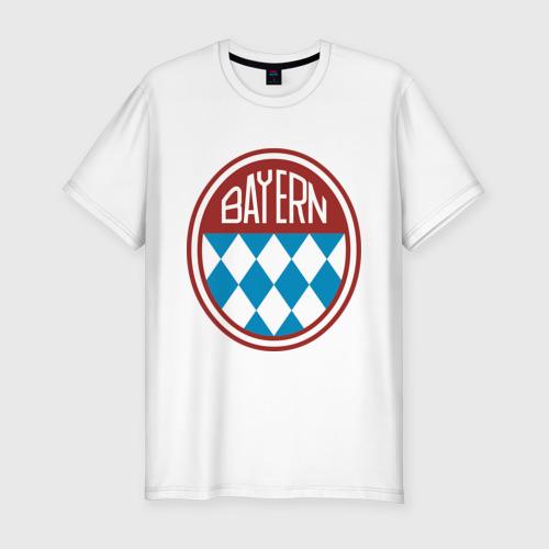 Мужская футболка хлопок Slim Бавария (2)