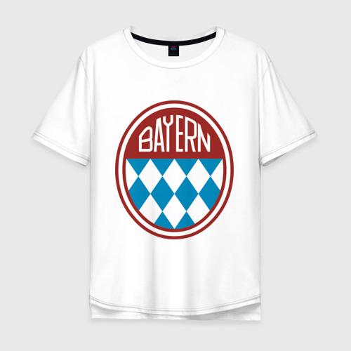 Мужская футболка хлопок Oversize Бавария (2)