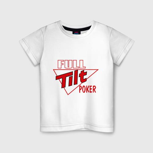 Детская футболка хлопок Full Tilt Poker
