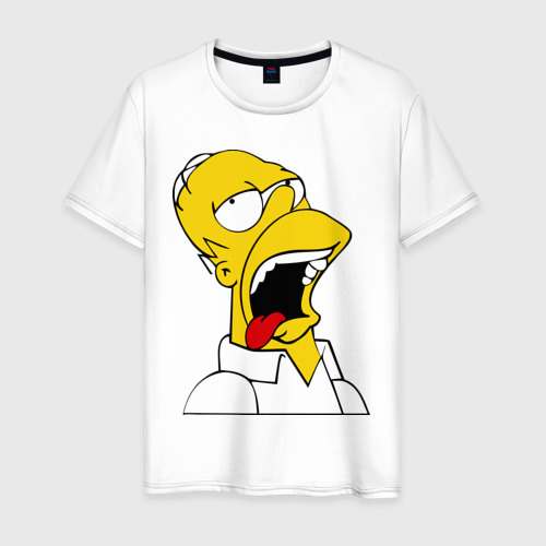 Мужская футболка хлопок Gomer Simpson (2)