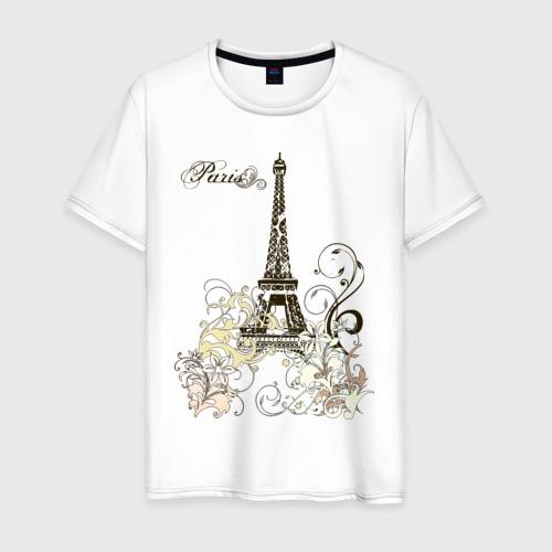 Мужская футболка хлопок Paris (2)