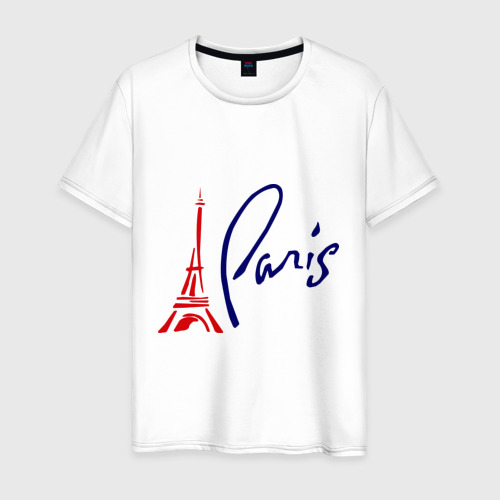 Мужская футболка хлопок Paris (3)