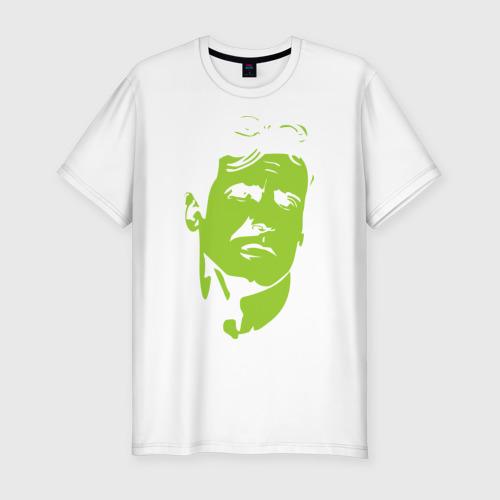 Мужская футболка хлопок Slim Рембо - Сильвестр Сталоне