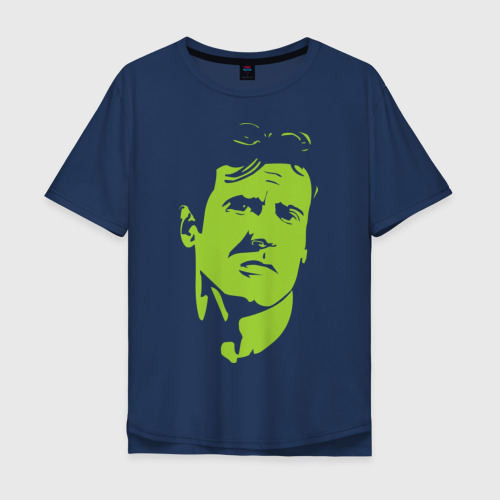 Мужская футболка хлопок Oversize Рембо - Сильвестр Сталоне