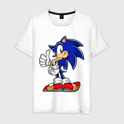 Мужская футболка хлопок Sonic (2)