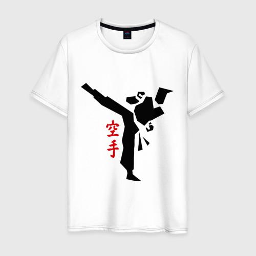 Мужская футболка хлопок Карате (2)
