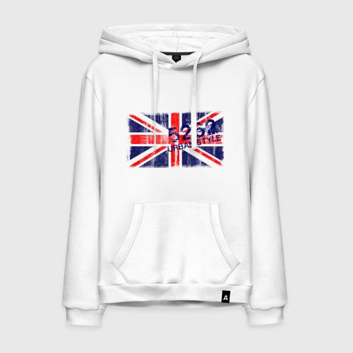 Мужская толстовка хлопок England Urban flag