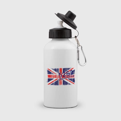 Бутылка спортивная England Urban flag