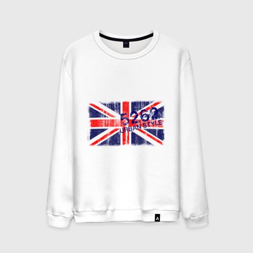 Мужской свитшот хлопок England Urban flag