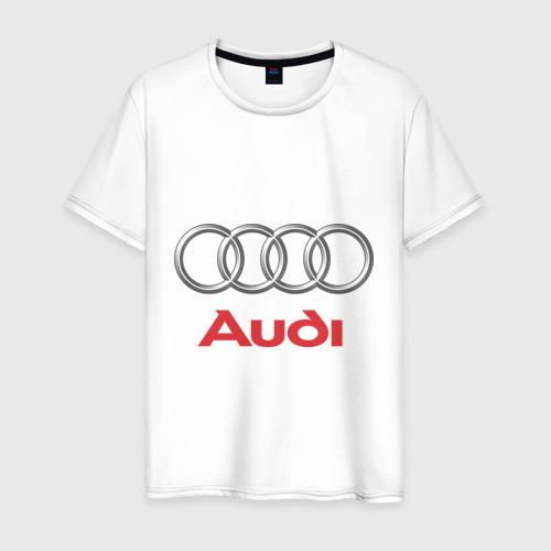 Мужская футболка хлопок Audi (2)