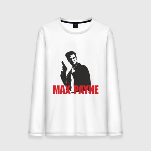 Мужской лонгслив хлопок Max Payne (2)