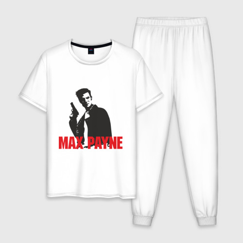 Мужская пижама хлопок Max Payne (2)