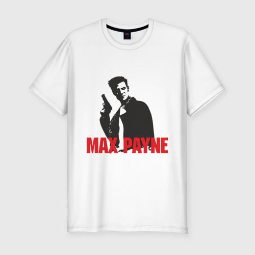 Мужская футболка хлопок Slim Max Payne (2)