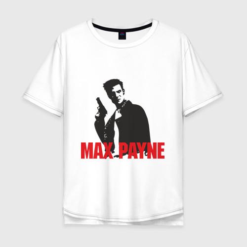 Мужская футболка хлопок Oversize Max Payne (2)