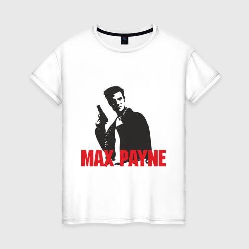 Женская футболка хлопок Max Payne (2)