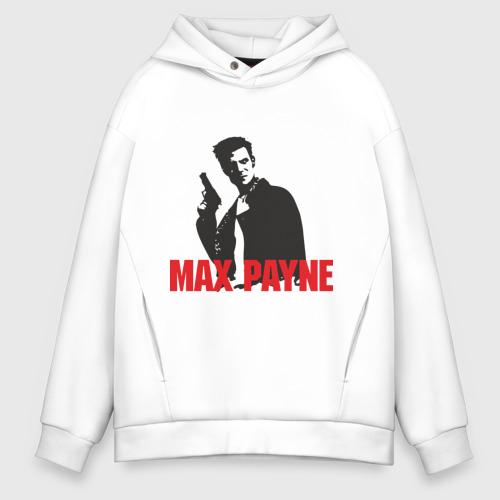 Мужское худи Oversize хлопок Max Payne (2)