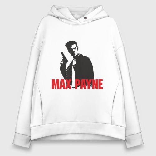 Женское худи Oversize хлопок Max Payne (2)