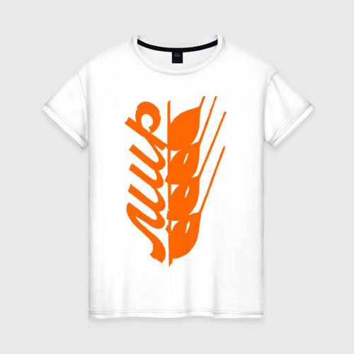 Женская футболка хлопок Мир - май