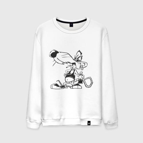 Мужской свитшот хлопок Мышь (2)
